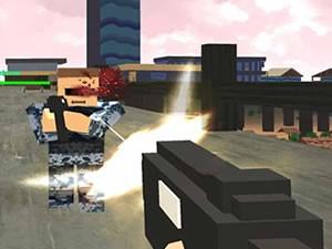 Pixel Battle Royal Multiplayer