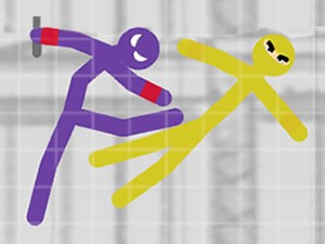 Stickman Fighting 2 Players